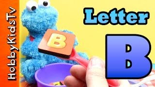 Learn Letter B - Using Real Items - Alphabet For Kids, Preschoolers,teaching Toddlers, Esl