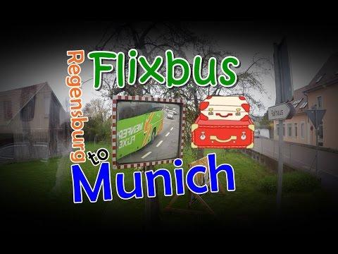 [เที่ยวยุโรป] Flixbus from Regensburg to Munich : Germany Travel Vlog Ep56