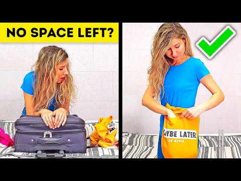 32 SMART TRAVEL HACKS TO SAVE MONEY AND SPACE