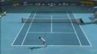 Top Spin 3 Gameplay Federer vs Phillppoussis