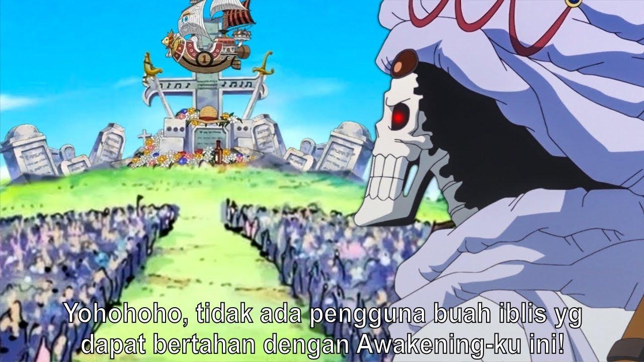 KEKUATAN BARU BROOK DENGAN AWAKENING YOMI YOMI NO MI NYA! - One Piece 1020+ (Teori)
