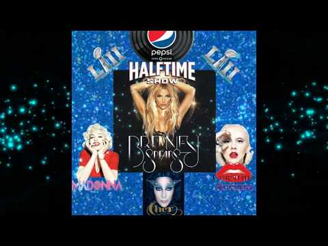 Superbowl Halftime Show 2018: Britney Spears with Madonna, Christina & Cher.