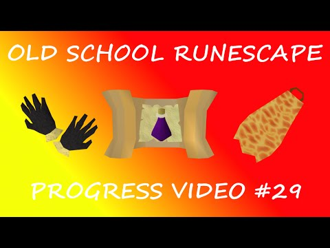 FIRE CAPE + BARROWS GLOVES ACHIEVED! NOTED POTIONS WTF!?!? Old School Runescape Progress vid #29