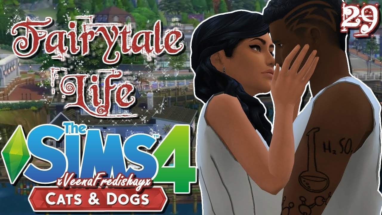 The Sims 4 Cats & Dogs//Fairytale Life//Ultrasounds & Leaf Piles
