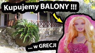 Balony z Helem w GRECJI !!! - Straciliśmy 3 Euro w 2 minuty !!! *Camping SIKIA i Wieczorne Ryby #511