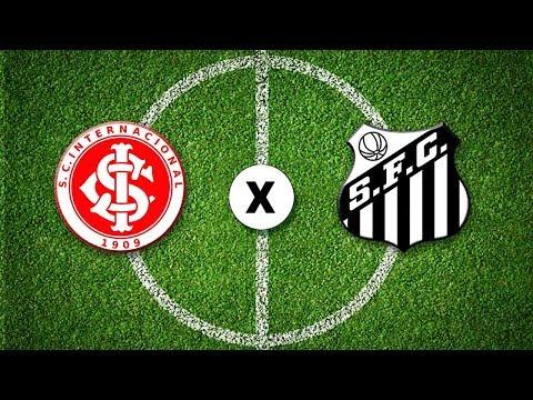 Internacional x Santos - Brasileirão - 13/08/2020 - Futebol JP