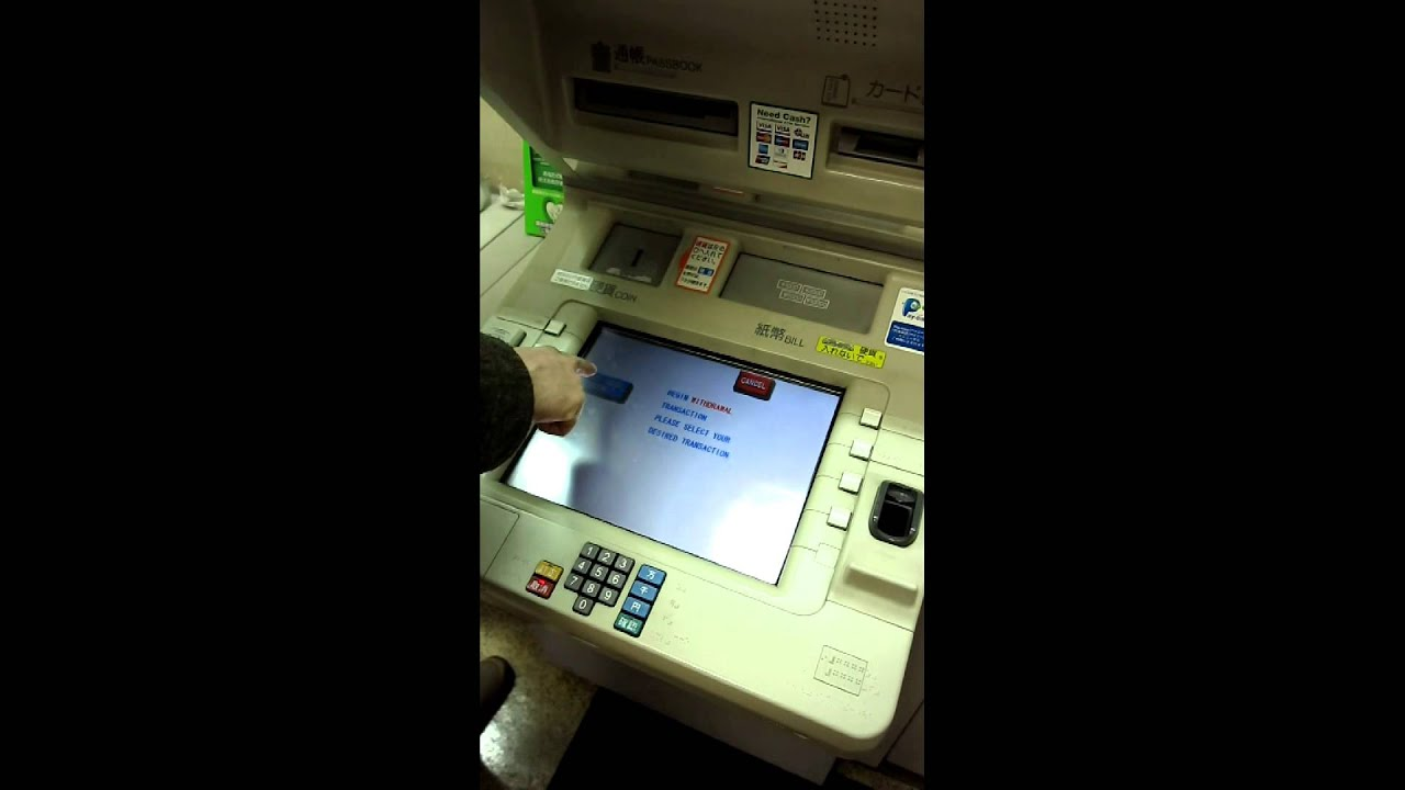 how to use a foreign issued credit card in a japanese post