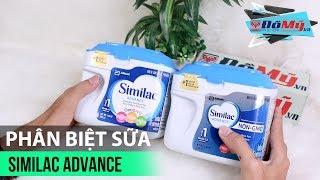 Hướng Dẫn Phân Biệt Sữa Thật - Giả Similac Advance - Khuyễn Mãi 27-29/04 - Domy.vn - Đồ Mỹ