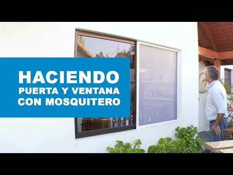 c mo hacer una puerta y ventana con mosquitero youtube