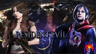 Resident Evil 6 - Mercenaries Duo -Rooftop Mission - Feat. Project Hama