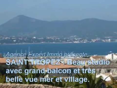 ST TROPEZ - Studio - sea view - Achat - appartement - vue mer - Saint Tropez - Monolocale