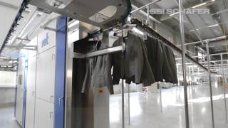 Overhead Conveying System, Fashion Logistics, eCommerce, Order Mail, Returns Processing, LOXXESS AG