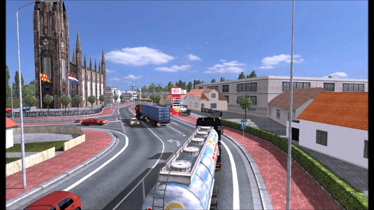 Euro truck simulator 2 o comeccedilo 1 - 4 6
