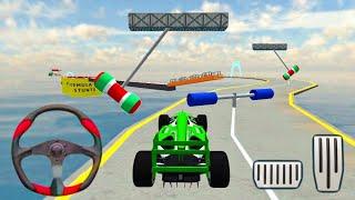 Formula GT Ramp Car Stunt 3D - Impossible Car Driving Tracks - Android Gameplay screenshot 3