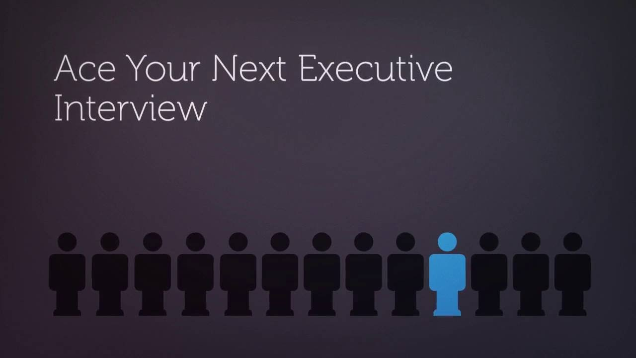 how to answer executive interview questions