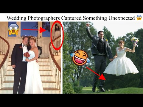 30 Cases Where A Wedding Photographer Captured Something Unexpected