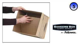 Bankers Box® Earth Series Standard Storage Box - Assembly Demo