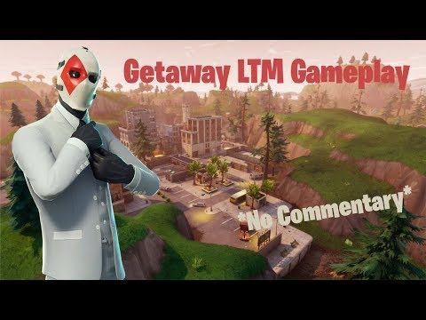 20 Minutes Of The Getaway LTM  Gameplay In Fortnite *no Commentary*