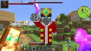 Sezon 11 Minecraft Moḋlu Survival Bölüm 14 - Köyün Kahramanı Oldum