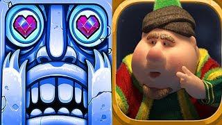 Temple Run 2 Frozen Shadows VS Fananees Android iPad iOS Gameplay HD