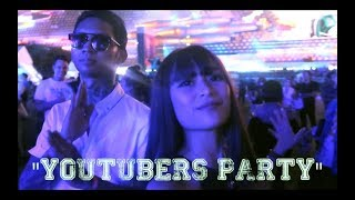 "YOUTUBERS PARTY ""web tv asia"""