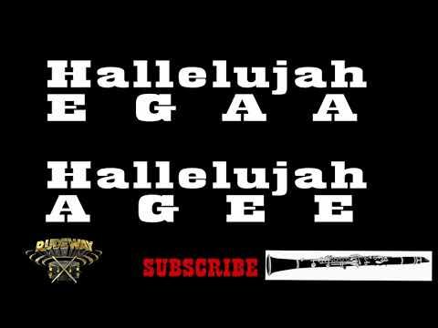 Hallelujah - Leonard Cohen (Clarinet Notes) {Rudeway}