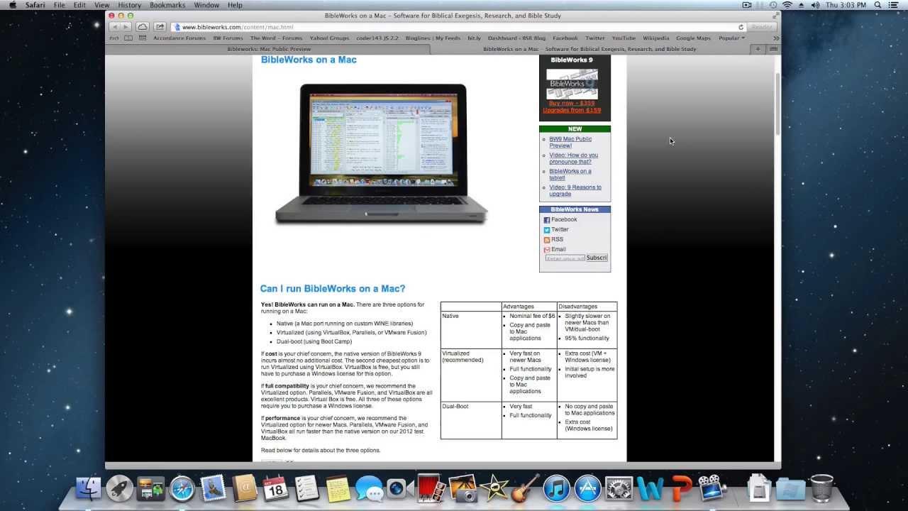 BibleWorks for Mac