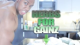 Herbs For Health & Muscle Growth | Dr Sebi | Vegan Bodybuilder