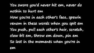 Eminem ft. Rhianna- Love the Way You Lie lyrics