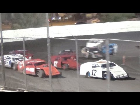 Dirt Modified  MAIN  6-11-16  Petaluma Speedway