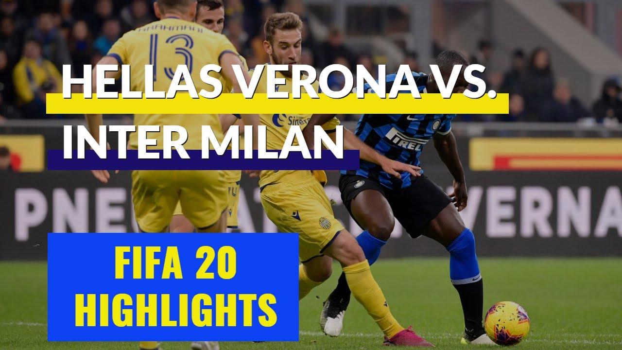 FIFA 20 Daily Match | Highlights Hellas Verona vs Inter ...