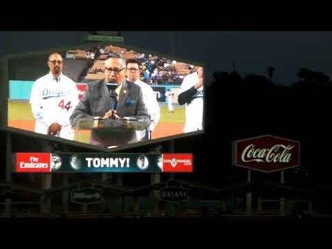 Tommy Lasorda 90th  Birthday Celebration Ceremony 9/22/17 part 2