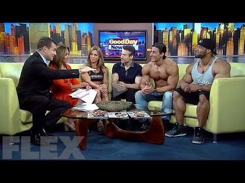 Juan Morel, Sadik Hadzovic & Juliana Malacarne on Good Day New York