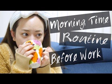 仕事前のMorning Time Routine! 〜 with coffee♥〜