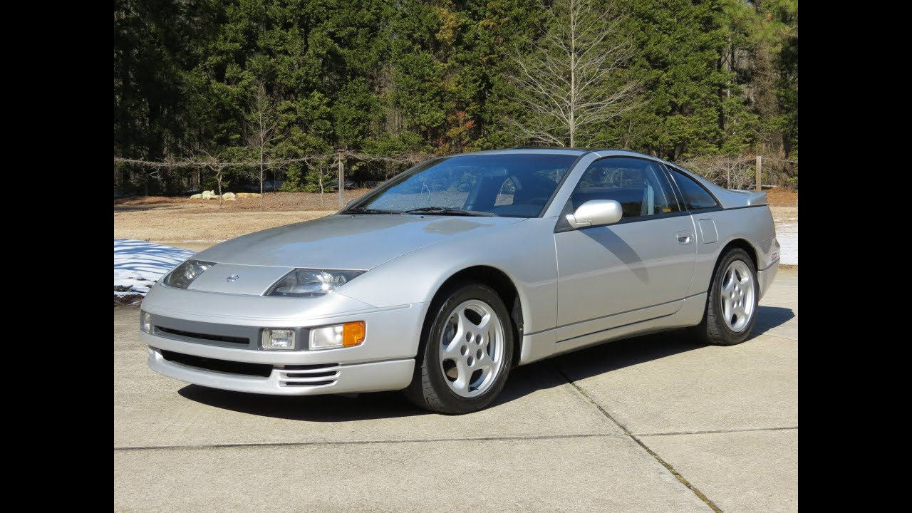1993 nissan 300zx twin turbo start up, exhaust, drive, and in