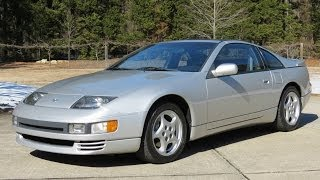 1993 Nissan 300ZX Twin Turbo Start Up, Exhaust, Drive, and In Depth Review