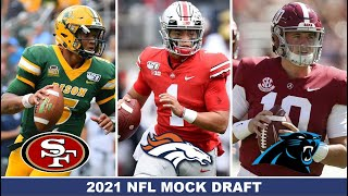 2021 NFL Mock Draft 3.0 | Post Free Agency Edition with TRADES