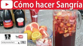 SANGRIA | Vicky Receta Fácil