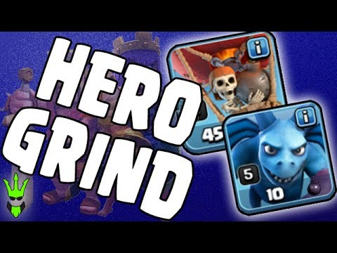GRINDING HEROES!! - TH9 Loonion Dark Elixir Farming - Clash of Clans - Easy DE Farming