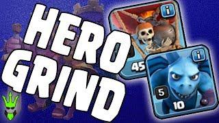 GRINDING HEROES!! - TH9 Loonion Dark Elixir Farming - Clash of Clans - Easy DE Farming