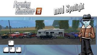 Farming Simulator 15 Mod Spotlight - Classic Chevy Trucks