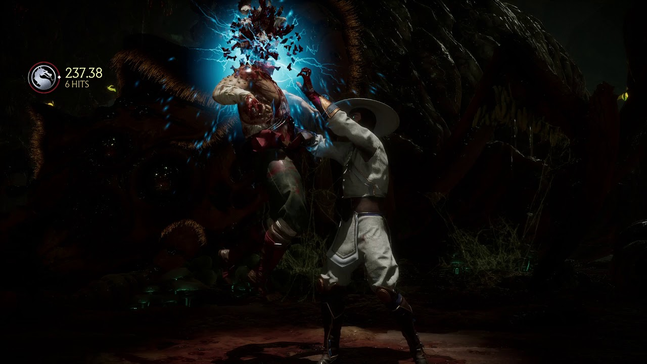 Raiden's Fatalities, Brutalities and Krushing Blows | Test