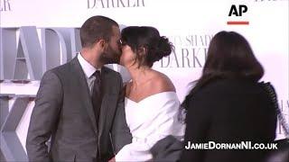 Jamie Dornan - Darker Premiere LDN: Red Carpet (09.02.17)