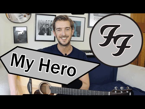 My Hero - Foo Fighters Guitar Lesson Tutorial - How to play