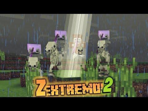 Relámpagos!!! | Z extremo 2 / Serie minecraft survival map #19