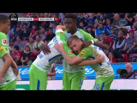 GOL: Bayer Leverkusen 2 - 2 Vfl Wolfsburg