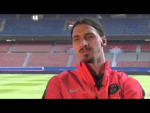 Interview de Zlatan Ibrahimovic / PSG thumbnail
