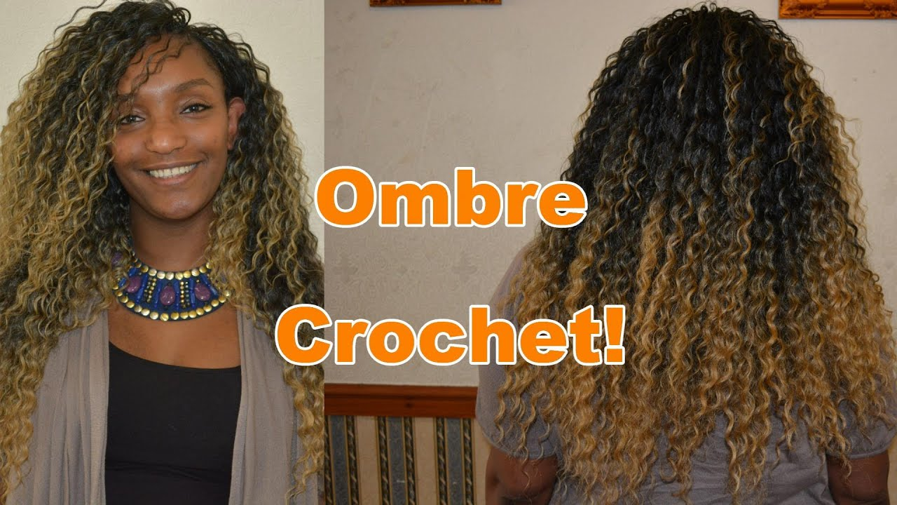 Crochet Hair Urban : Crochet Braids!! Ombre Hair (URBAN) NEW BRAND *NEW 2016* - YouTube