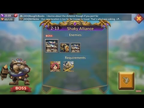 Lords Mobile Challenge 2-13