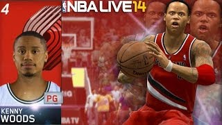 NBA Live 14 Rising Star PS4 #2 - NBA Draft & NBA Debut Game CRAZY ENDING!!